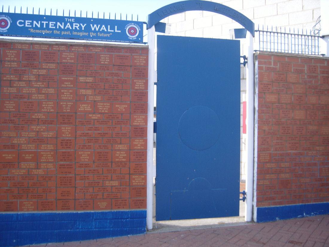 Hartlepool Centenary Wall 170309 002