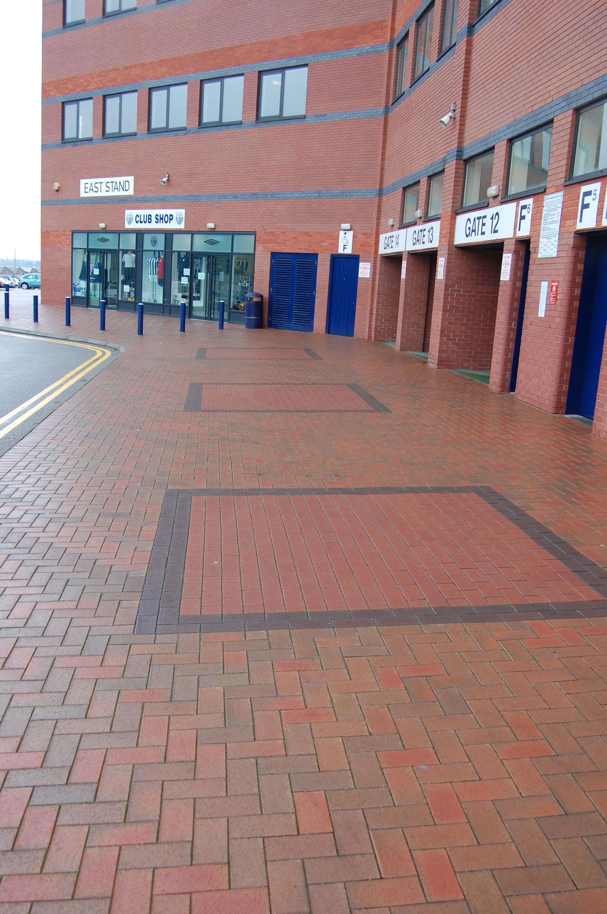 WBA Walkway