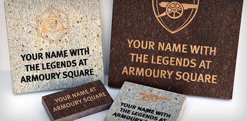 Arsenal stones