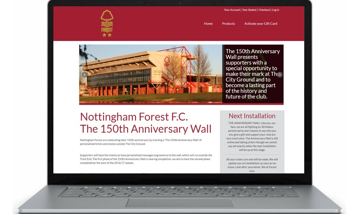 Forest Home Page Laptop cropped