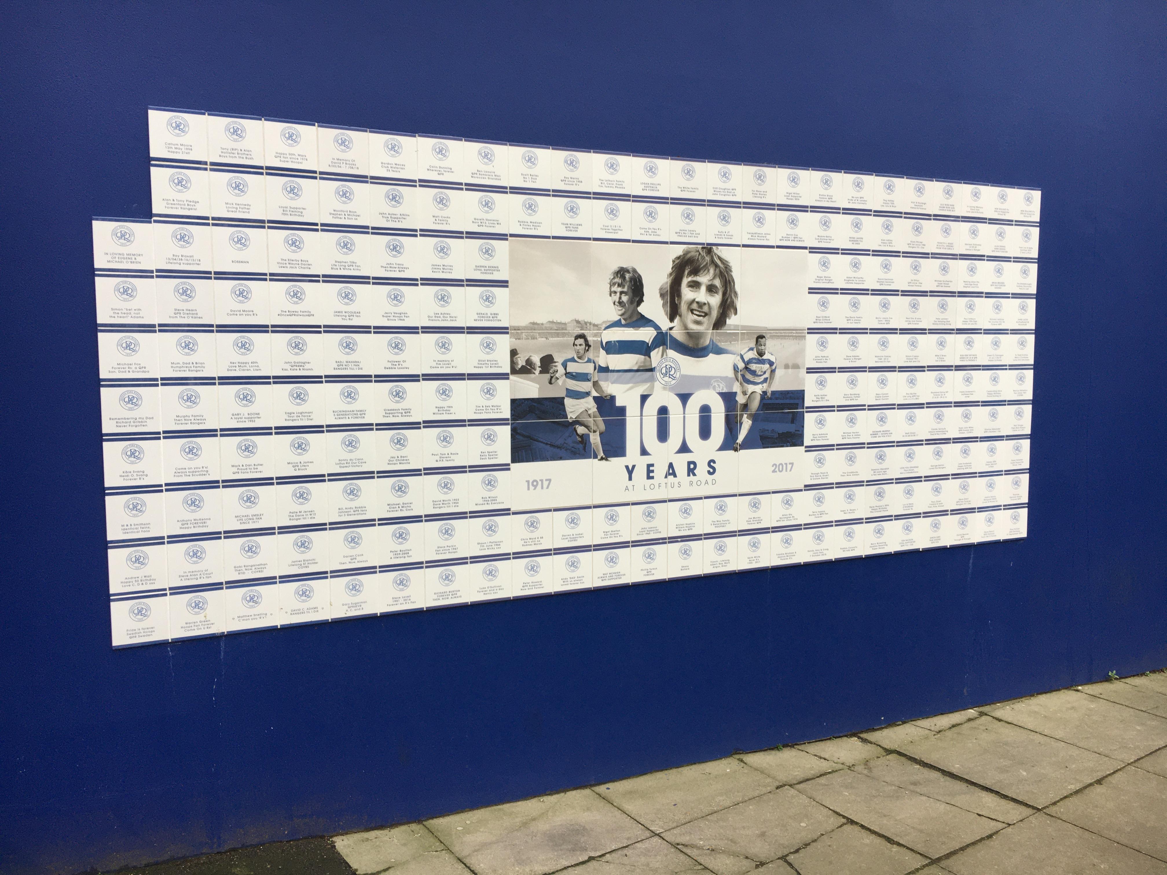 QPR wall 2