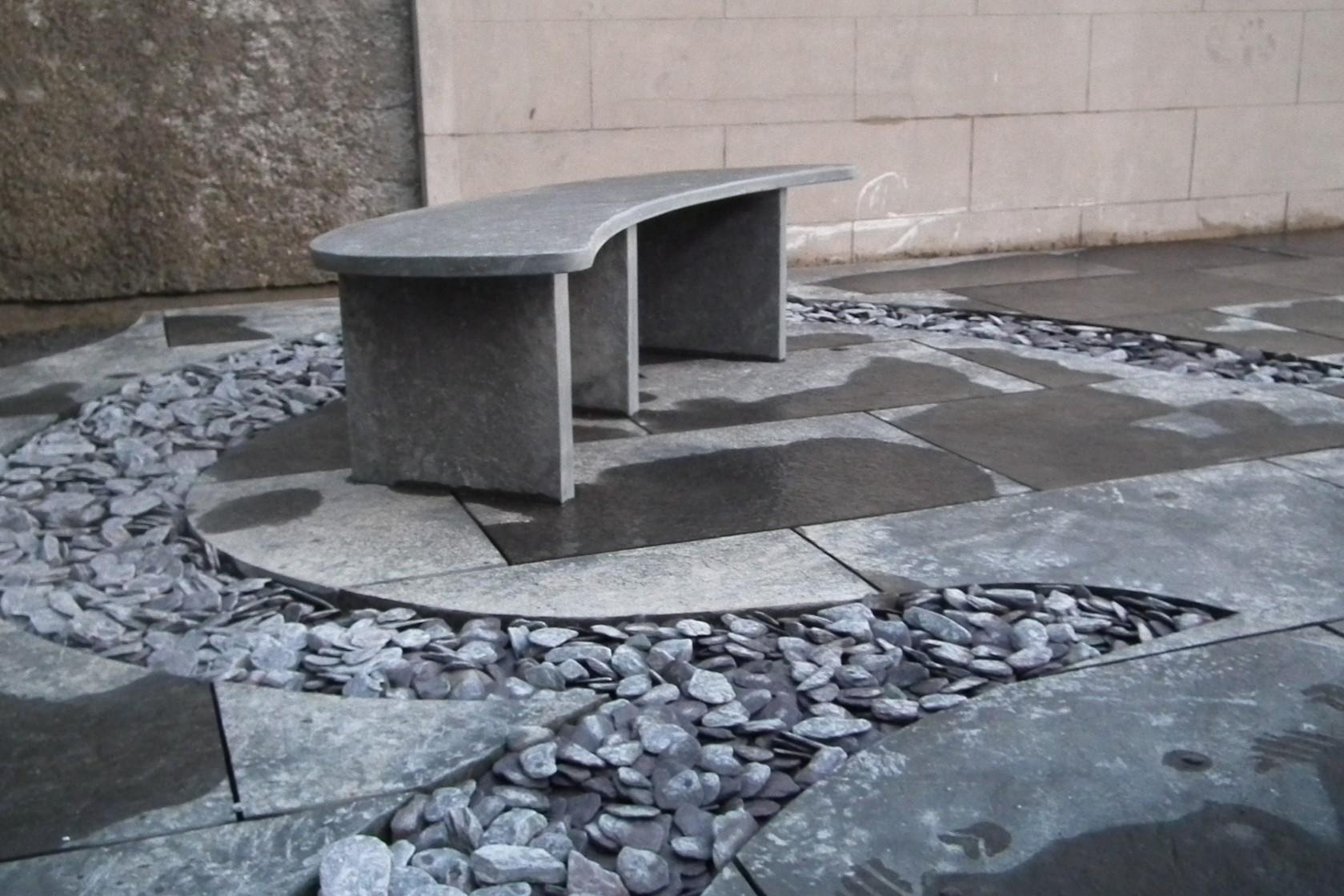 Siltstone bench