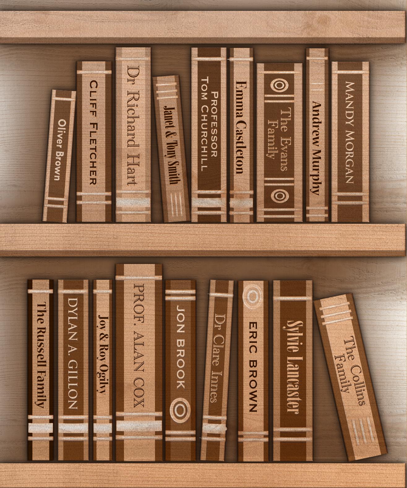 Wooden Shelf v4
